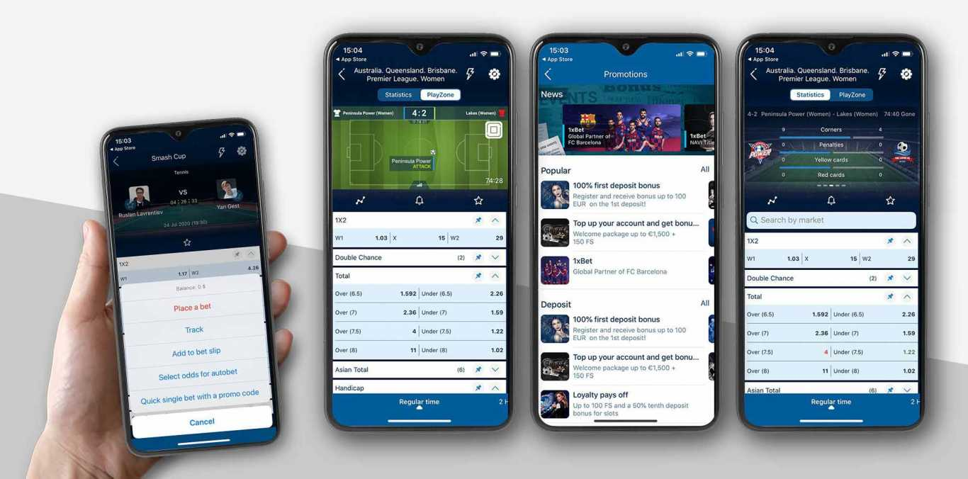 App mobile 1xBet per Android